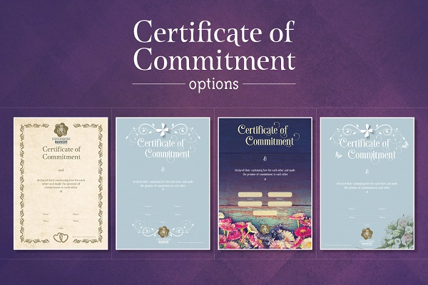 Commitment certificate options