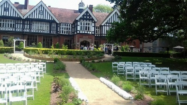 Outdoor wedding venue, The Iliffe, Laura Ashley Hotels