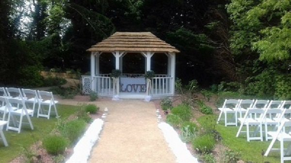 Pagoda - Outdoor wedding venue, The Iliffe, Laura Ashley Hotels